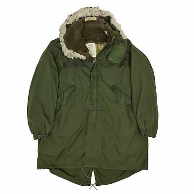 $373.74 • Buy Vintage M-65 80s US Army Extreme Cold Weather Fishtail Parka M Oversized