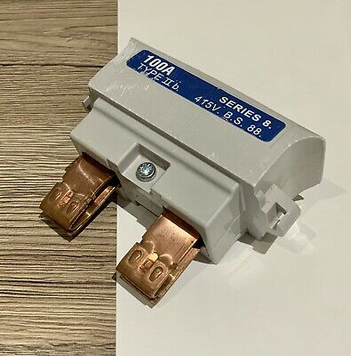 HENLEY Series 8 100A BS88 Type 2b Fuse 415V • 14.99£