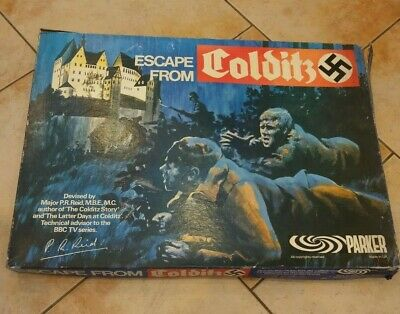 Escape From Colditz Retro Board Game • 20£