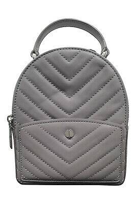 $ CDN190.59 • Buy KATE SPADE Grey 100% Lamb Leather Min Convertible Backpack Bag (S)