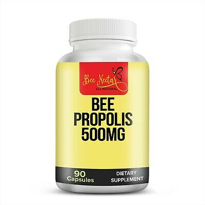 Bee Health Propolis Capsules Healthy Immune System And Support All Natural  • 5.99£