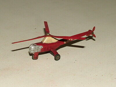 DINKY VINTAGE DIECAST TOYS 1:76 No.716 WESTLAND SIKORSKY HELICOPTER G-ATWX  • 5£