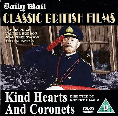 294   Promo Dvd Kind Hearts And Coronets - Alec Guinness  • 0.01£