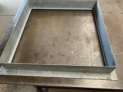 MANHOLE COVER  SURROUND ONLY 600X600x80mm Recessed • 10£