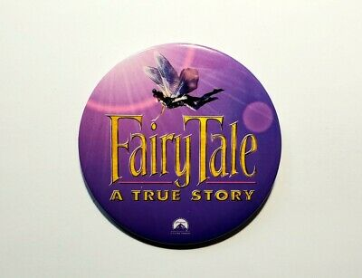 Vintage Fairytale A True Story Movie Promo Button - Harvey Keitel Fairy Tale Pin • 4.42£