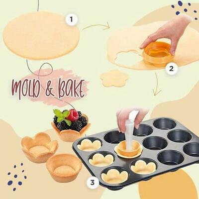 New Creative Cake Cup Presser Biscuit Rice Ball Donut Mold Diy Baking Tool • 2.89£