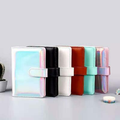 AU10.56 • Buy Leather Loose-Leaf Ring-Binder-Notebook Macaron Colour Planner Diary New