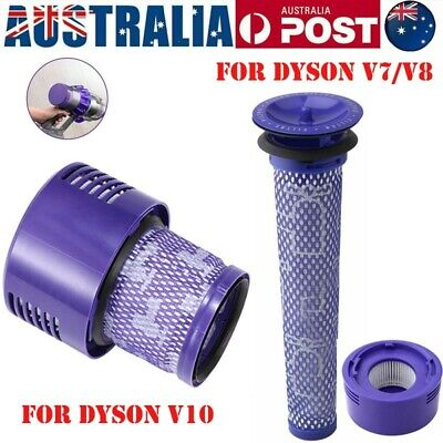 AU19.99 • Buy Washable Hepa Filter For DYSON Cyclone V10 Animal Absolute V7/V8 Clean Vacuum