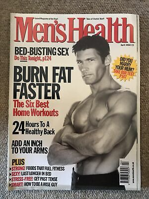 Mens Health Magazine April 2000 • 2£