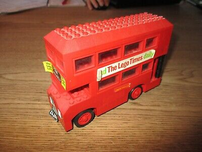 $ CDN25.97 • Buy LEGO DENMARK-VINTAGE SYSTEM - LONDON DOUBLE-DECKER  BUS  -1970's.