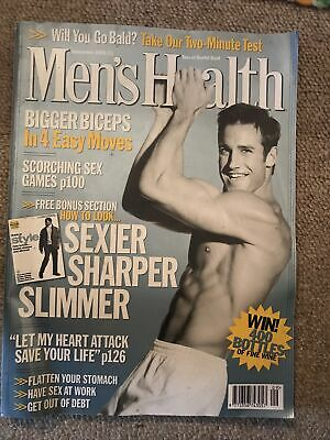Mens Health Magazine September 2000 • 2£