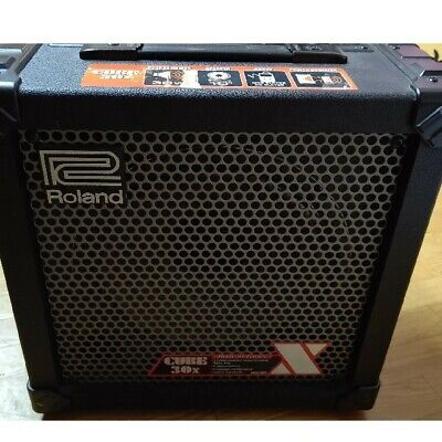 AU389.43 • Buy Roland Cube30X Guitar Amplifier 34W Black Used From Japan F/S Fedex RSMI