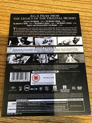 The Mummy: Complete Legacy Collection - Box Set (DVD) New & Sealed • 12£