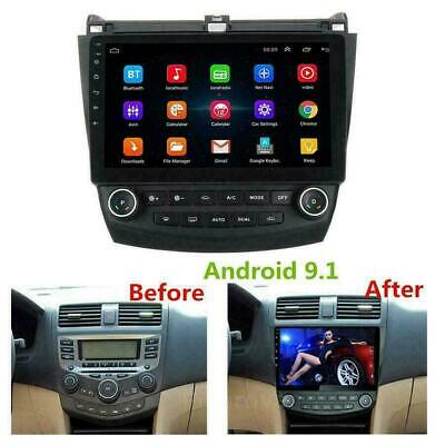 $183.99 • Buy 10.1 Inch For Honda Accord 2003-2007 Android 9.1 Stereo Car Radio GPS MP5 Player