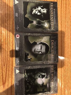 Universal Horror Collection Frankenstein Dracula And The Wolfman The Legacy Coll • 19.50£
