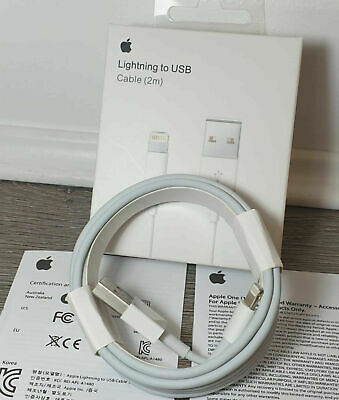 £5.99 • Buy 100% GENUINE OFFICIAL Apple IPhone X/8/7/6S Charger USB Cable 2M🌹🌹🌹🌹