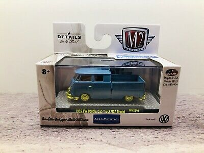 $ CDN19.99 • Buy 🔷M2 Machines 1/64 Chase 1959 VW Double Cab Truck ...1 Of 750