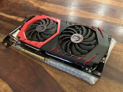 $ CDN446.57 • Buy MSI GeForce GTX 1070 8GB Gaming X 8G Graphics Card - Excellent Condition