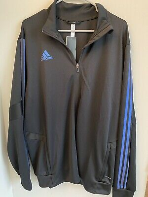 $ CDN49.60 • Buy New Adidas Astro Track Jacket XL Black Iridescent Men's Metallic