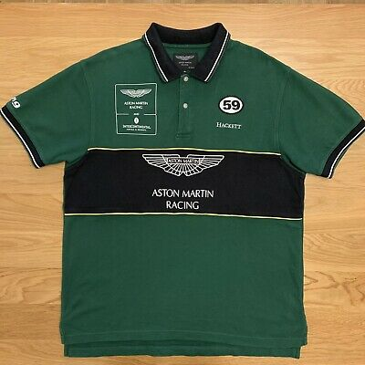 Hackett Aston Martin Polo Shirt XL • 30£