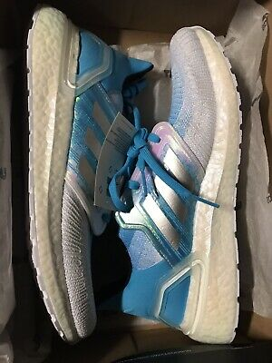 $ CDN121.46 • Buy Adidas Ultra Boost 20 Men's Size 12 White Cyan Blue $180 Sold Out