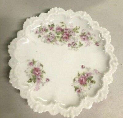 $9.99 • Buy Vintage M Z Austria China Plate With Roses