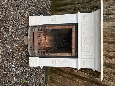 Cast Iron Fireplace, Victorian Style • 85£