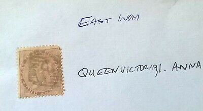 Stamp Of East India, Queen Victoria, 1 Anna • 1.25£