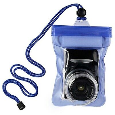 Waterproof Bag DSLR Camera Housing Case For Canon Nikon Underwater Pouch #T0 • 6.29£