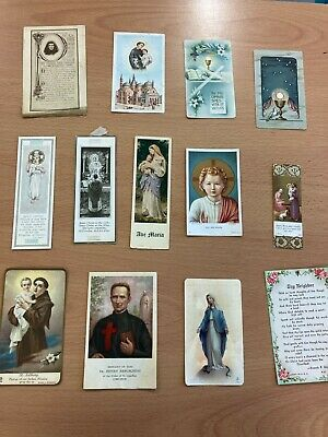 Catholic Vintage Picture Holy Card Collection Some Rare Job Lot • 14.99£