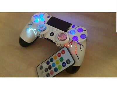 AU199.10 • Buy Whitecloud By TechFire PS4 Wireless Controller LEDs Custom Made