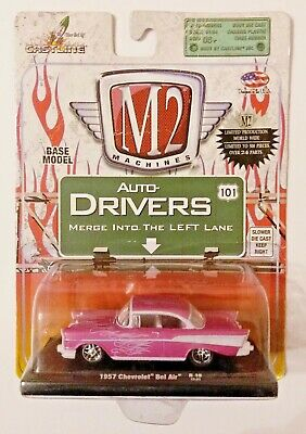 $ CDN25.39 • Buy M2 Machines Auto-drivers R19 1957 Chevrolet Bel Air Pink Chase