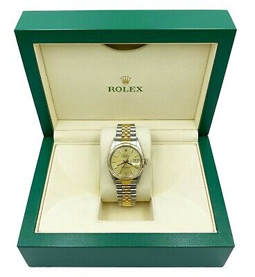 $ CDN7742.51 • Buy Rolex Datejust 16013 Champagne Dial 18K Yellow Gold Stainless Steel
