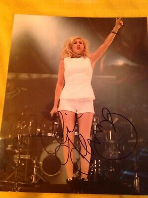 Ellie Goulding Signed 10x8 Colour Photo With COA • 25£