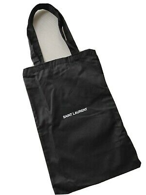 YSL SAINT LAURENT Genuine Cotton Bag Tote Shopping New Unused • 25.99£