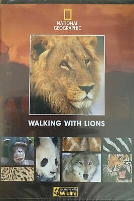 £3.50 • Buy Walking With Lions Dvd New And Sealed Documentary