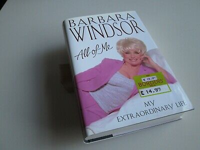 Barbara Windsor All Of Me My Extraordinary Life 2000 HB 1st Ed Signed In Person • 12£