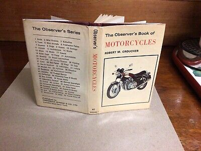Observers Book Of Motorcycles 1st Ed 1976 • 12.99£