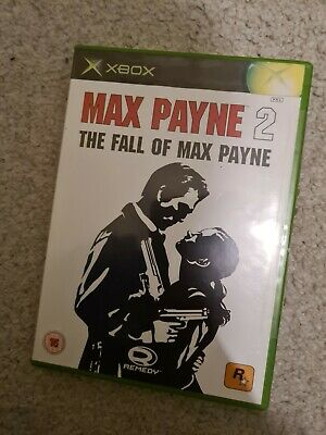 Max Payne 2: The Fall Of Max Payne Video Game For Microsoft Xbox PAL TESTED • 2.70£