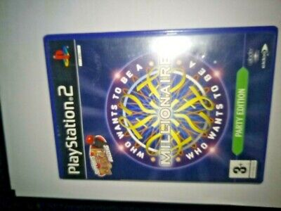 Who Wants To Be A Millionaire -- Party Edition Sony PlayStation 2 Buzz Buzzers • 4£