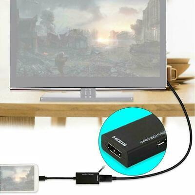 AU5.17 • Buy Universal Micro USB To HDMI MHL Cable 1080P HD TV Adapter 12cm For Android D4M2