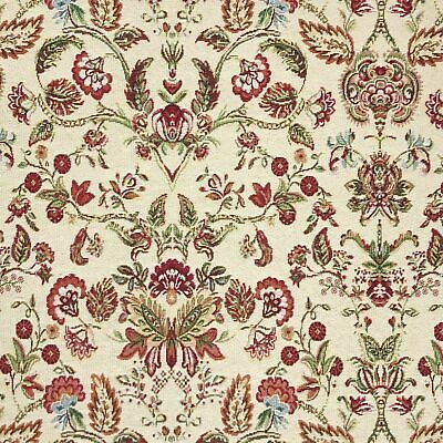 £9 • Buy Tapestry Fabric Morris Vintage Floral Upholstery Furnishings Curtains 140cm Wide
