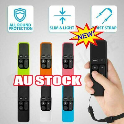 AU8.47 • Buy Remote Controller Case Silicone Protective Cover Skin For Apple TV 4th Gen XD