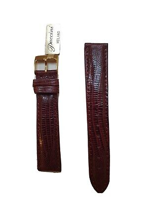 New Darlena Puccini Milano Genuine Teju Watch Strap 18 Mm • 30£