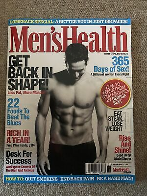 Mens Health Magazine Jan/feb 2006 • 2£