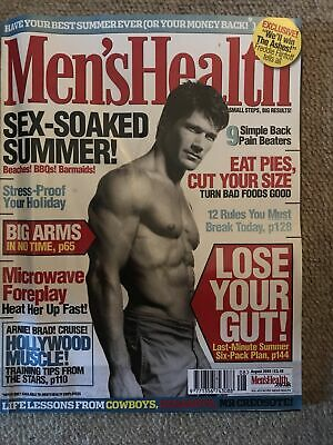 Men's Health Magazine (August 2005) • 2£