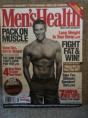 MEN'S HEALTH MAGAZINE - May 2005 • 1.90£