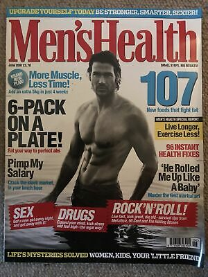 Mens Health Magazine June 2007 • 2£