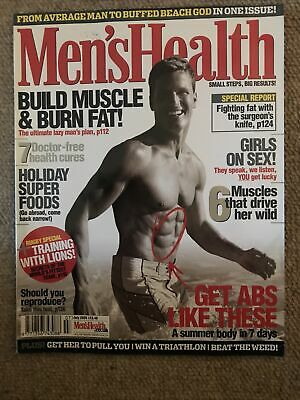 MENS HEALTH MAGAZINE - July 2005 • 2£