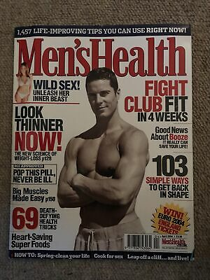 Mens Health Magazine April 2004 • 2£